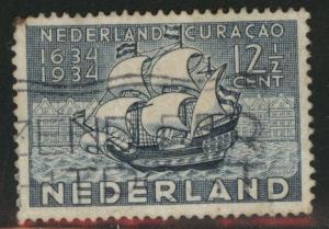 Netherlands Scott 203 Used 12.5c stamp