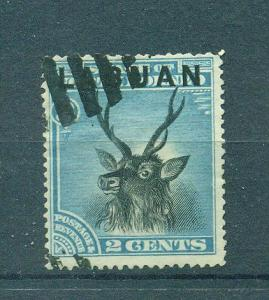 Labuan sc# 50 postally used cat value $12.00