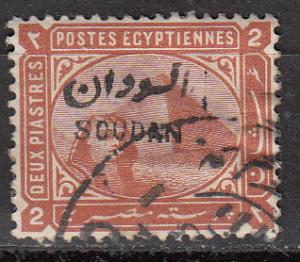 Sudan 6 SG 7 Used F/VF 1897 SCV $16.00