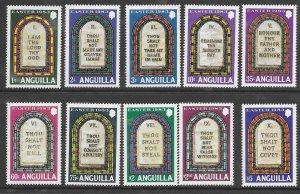 Anguilla 526-35  1983  set 10  VF NH