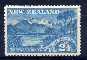 New Zealand 1898 sg 250 2 1/2d blue, fine LM