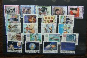 Barbados 1986 Birthday 1987 Scouts 1988 Olympics Lloyds Observatory sets Used