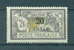 French Offices in Zanzibar sc# 48 mhr cat val $90.00