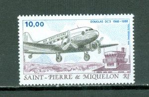 ST.PIERRE & MIQUELON  AIR  #C64...MNH...$5.00