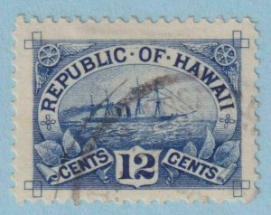 UNITED STATES - HAWAII 78  USED -  NO FAULTS EXTRA FINE!