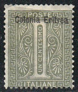 Eritrea Stamps of Italy Ovpted ( Scott #1) MH