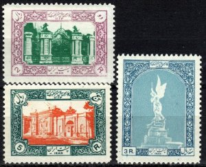 Iran #1020-22 Unused CV $32.00 (X7072)