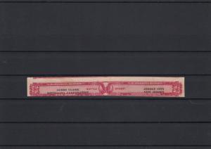 U.S. Distilled Spirits Stamp James Clark Distilling Corp. New Jersey  ref 22699