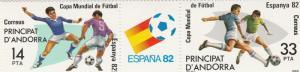 Andorra (Sp) #146a  MNH  CV $2.75 (S8049L)