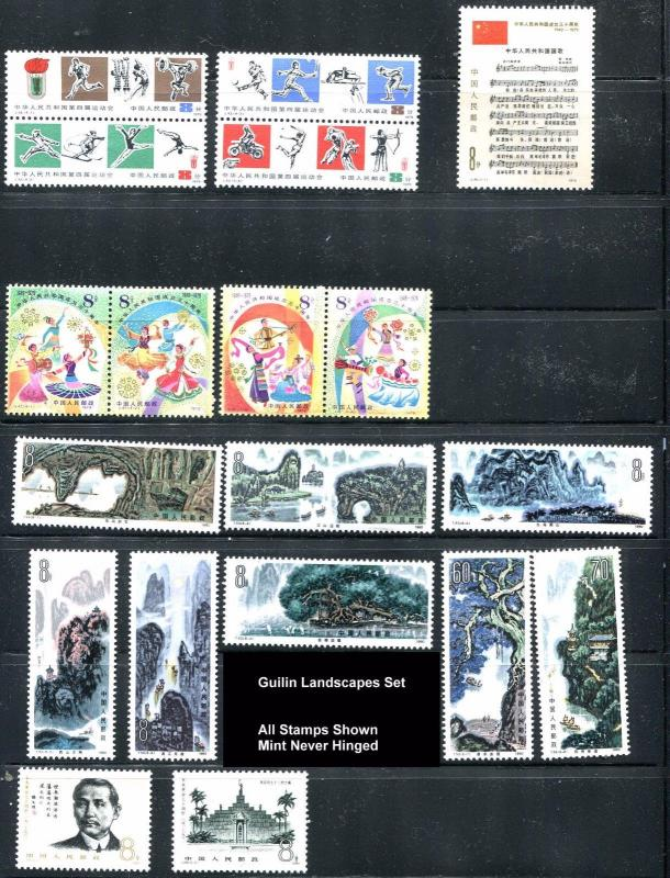 China PRC Mint Never Hinged Collection   (r10)