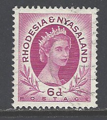 Rhodesia & Nyasaland Sc # 147 used (RS)