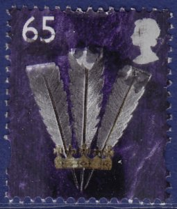 GB Wales - 2000 - Scott #17 - used - Feathers