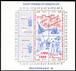 St. Pierre & Miquelon 1989 Scott #517 Mint Never Hinged
