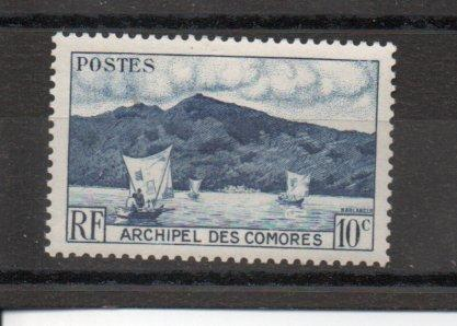 Comoro Islands 30 MNH