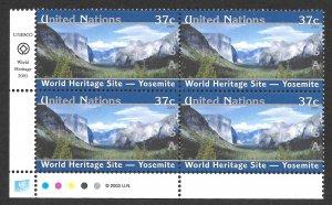 Doyle's_Stamps: MNH 2003 U.N. New York World Heritage Inscription Blocks