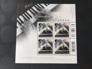Canada Mint NH #2118a Oscar Peterson Music
