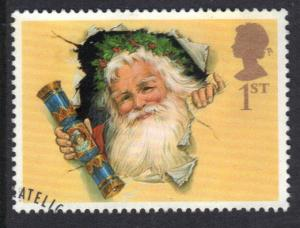 Great Britain 1997  used Christmas  1st    #
