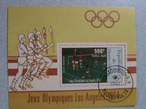 1984: REPUBLIC UPPER VOLTA: OLYMPIC LOS ANGLES 1984 S/S