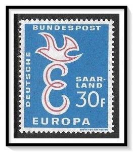 Saar #318 Europa MNH