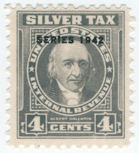 (I.B) US Revenue : Silver Tax 4c
