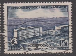 French Equatorial Africa Sc#191 Used
