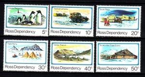 Ross Dependency L15-20 mnh set