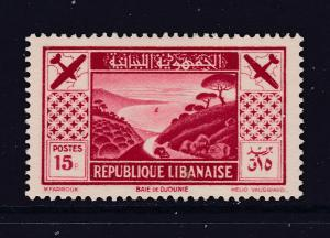 Lebanon A MH 15p From The 1936 Tourist