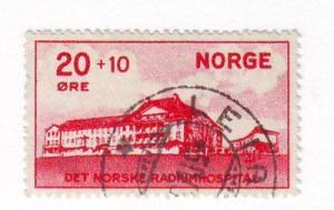 Norway Sc B4 1931 Radium Hospital stamp used