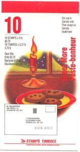 Canada - 1992 37c Santa Claus Christmas Booklet #BK149b