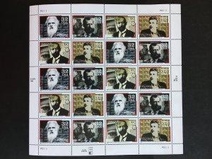 1996 sheet Communication Pioneers Sc# 3061-4