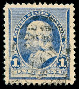 momen: US Stamps #219 Used PSE Graded XF-SUP 90J