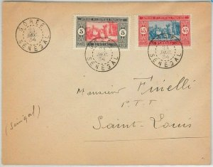 45185  - AOF  SENEGAL -  POSTAL HISTOR -  COVER from Gorée 1934
