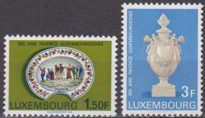 Luxembourg #456-7 MNH VF  (ST1464)