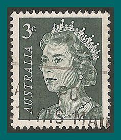 Australia 1966 Queen Elizabeth II, used  396,SG384