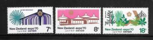 NEW ZEALAND #459-61 MNH Single