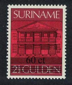 Suriname Overprint 60ct 1v SG#1309