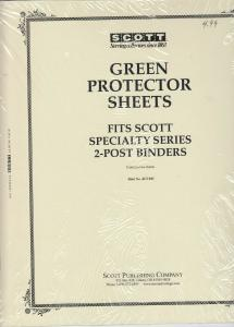 Scott Green Protector Sheets for Speciality Series Albums 4 Packages of 2 Each