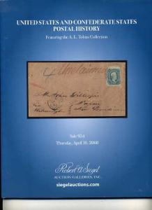 Siegel Auction Sale of US&Confederate Postal History
