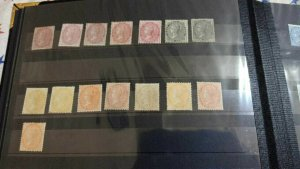 INDIA 1855- QV NO WATERMARK LMM /MM MINT LOT FINE AND VERY  RARE CV 20000 GBP+