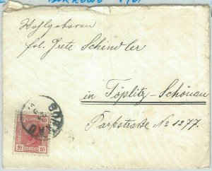 70037 - AUSTRIA Poland - POSTAL HISTORY - COVER  from BORKOWO 1901