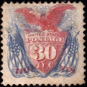 U.S. 121 Unused RG FVF (10418)