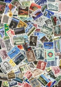 Iceland. Lot of 150 different MNH