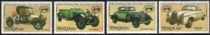 Venda - 1986 FIVA Veteran Car Rally Set MNH** SG 147-150