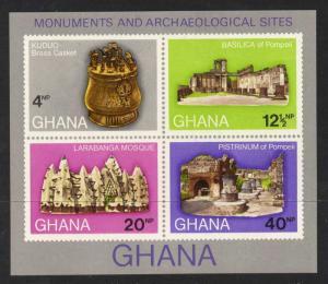 Ghana 408a MNH Archaeology, Monuments
