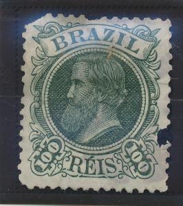 Brazil Stamp Scott #80, Unused, Faults - Free U.S. Shipping, Free Worldwide S...