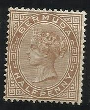 Bermuda SC 16  1/2p Used F/VF See Scan for Cancel, Centering, Perfs
