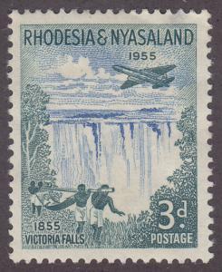 Rhodesia & Nyasaland 156 Victoria Falls 1955