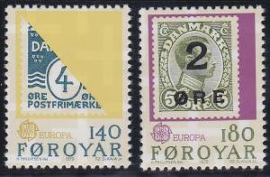 Faroe Islands 43-44 MNH (1979)