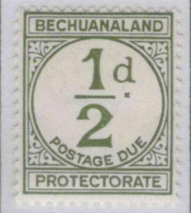 a411) Bechuanaland Protectorate. 1932/52. MM.  SG D4,D5,D6. Postage dues