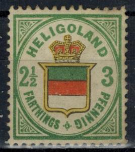 States - Heligoland - Scott 20 MH